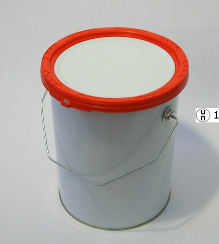 Plastic reinforced ring for a can UN homologation