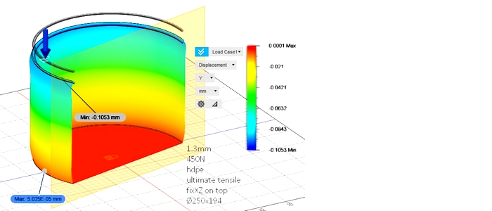 Stress simulation & performance prediction by FEA