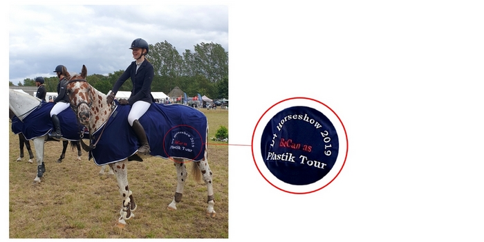 BoCan sponsors a horse ride event in Denmark